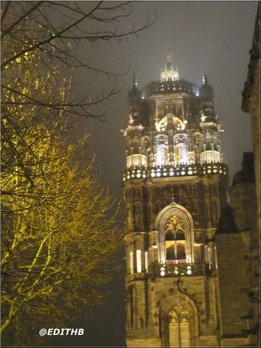 CATHEDRALE RODEZ NUIT (8)