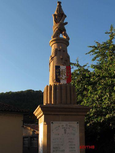 MONUMENT AUX MORTS PLAISANCE (1)