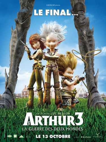 Arthur 3 and the War Of Two Worlds