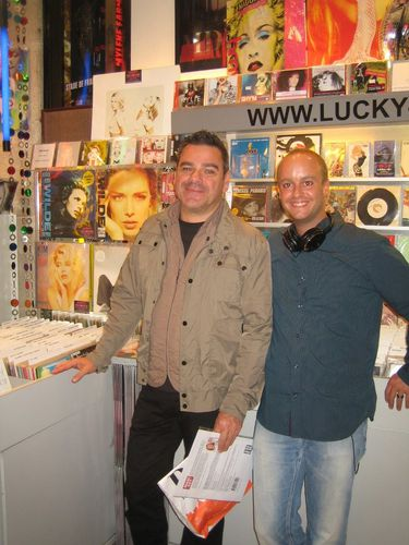 avec Steh lucky-records