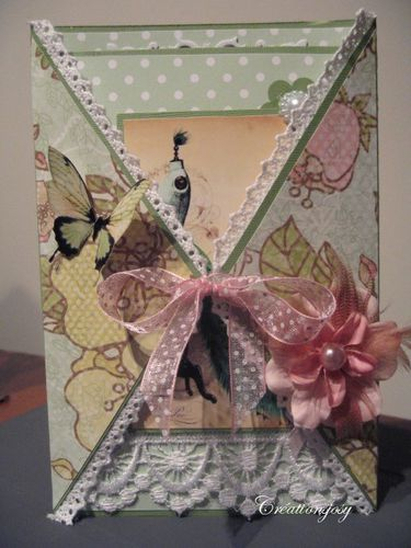 folding card passion shabby