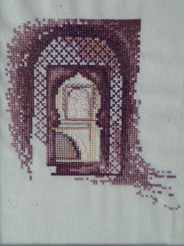 Broderie porte marocaine