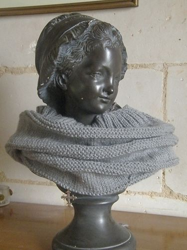 un snood jersey et mousse Nov 2011