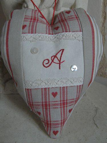 coeur brodé Amélie C