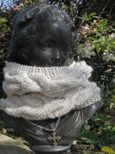 Snood beige Avril 2011