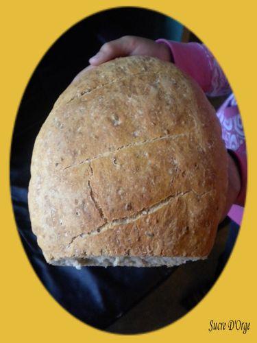 Pain cuit à la cocotte (2)
