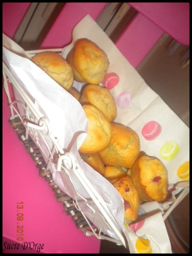Muffin aux pommes (2)
