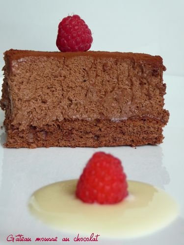 Gateau mousse