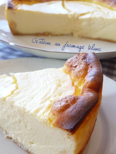 Gâteau fromage blanc 5