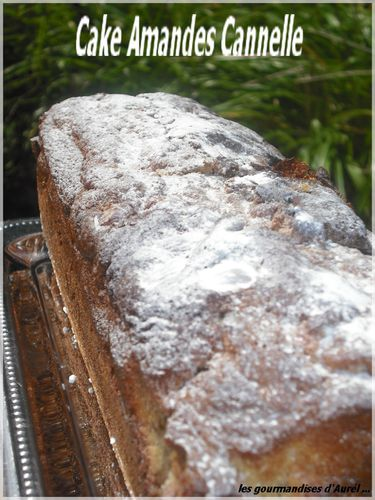 cake amandes cannelle