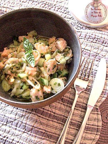 salade saumon mariné (1)