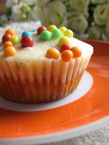Cupcakes amande abricot