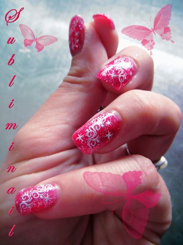 lovely pink sparkle
