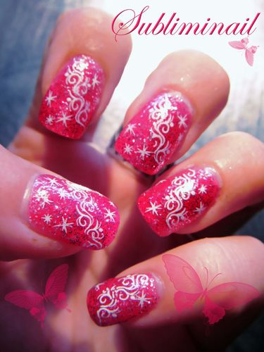 lovely pink sparkle2