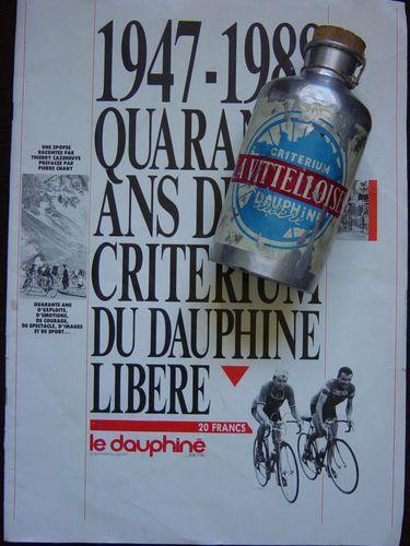 R bidon Dauphiné Libéré 1948