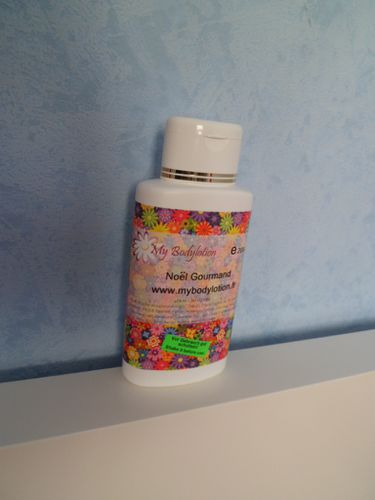 lait bodylotion noël
