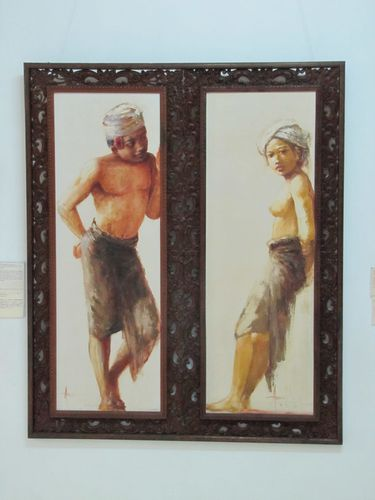 Ubud Neka Art Museum mutual attraction de Abdul Aziz