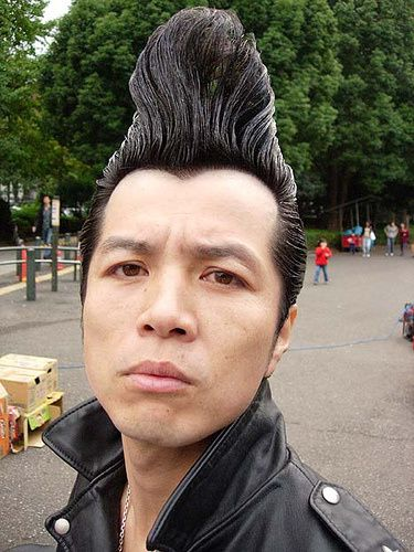 Hello Japan - Rockabilly Hair