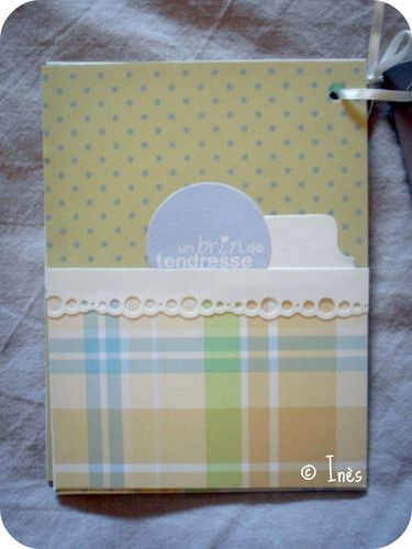 Scrap'Inès Mini Album Bébé Garçon Clean and Si-copie-10
