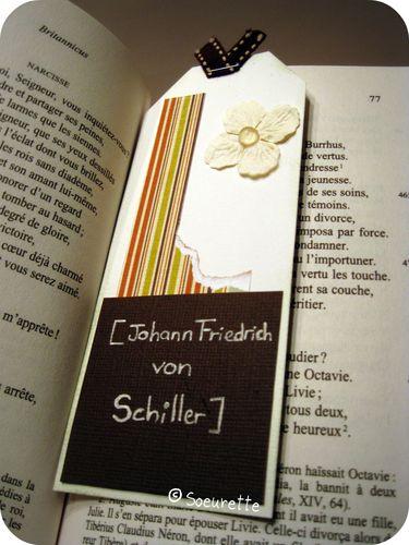 Soeurette Scrap Inès Marque Pages Bookmark 2
