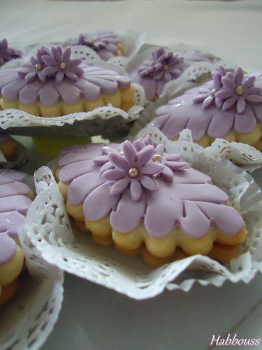 Gâteaux Farah (sablés confiture)