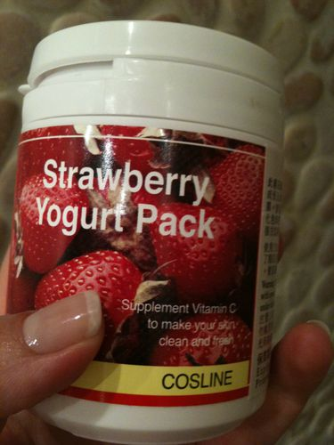 COSLINE strawberry yogurt
