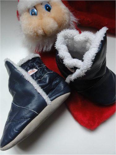 Un cocon de chaleur pour bébé   les chaussons-bottes fourrées ... 3f781372cad5