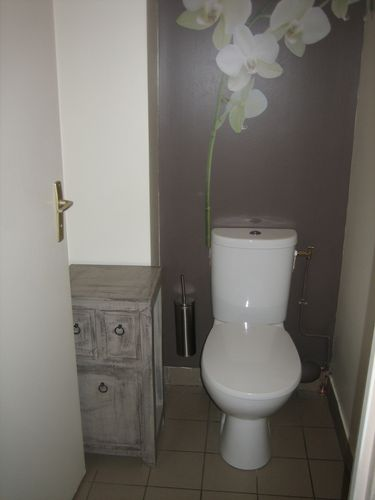 Idee renovation toilettes maison design - Deco kleine wc ...