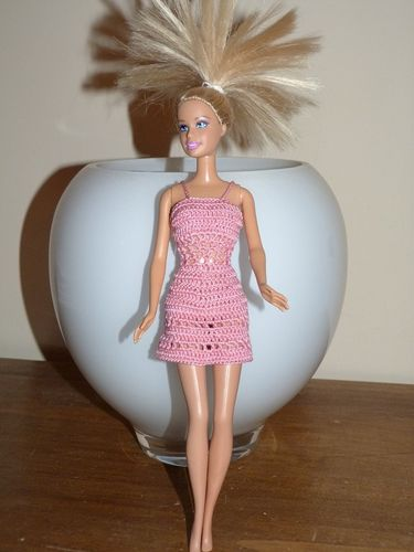 Libellule barbie rose A1