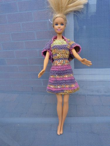 libellule barbie robe multi A