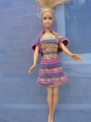 libellule barbie robe multi C