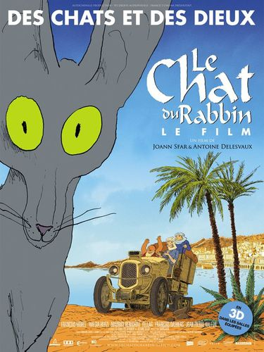Le Chat du Rabbin affiche