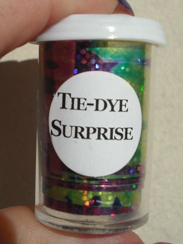 tie dye surprise foil int gral du vernis au nail art. Black Bedroom Furniture Sets. Home Design Ideas