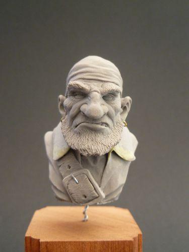 Buste Pirate Nain (5)