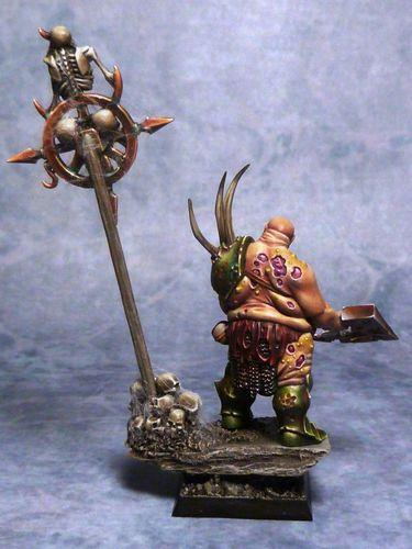 Nurgle Chaos Lord (2)