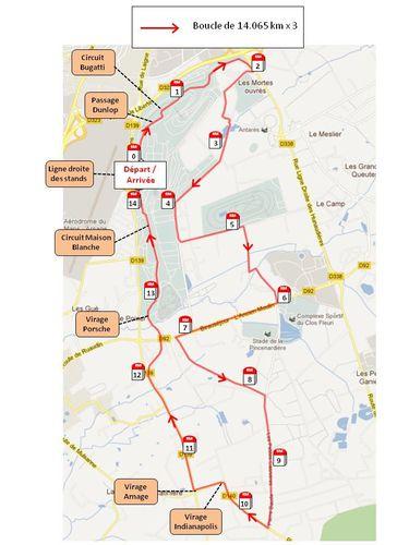 parcours marathon v bis
