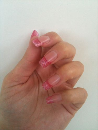 french-resine-rose-paillete 7425