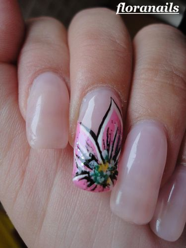reproduction nail art Saida Nails2
