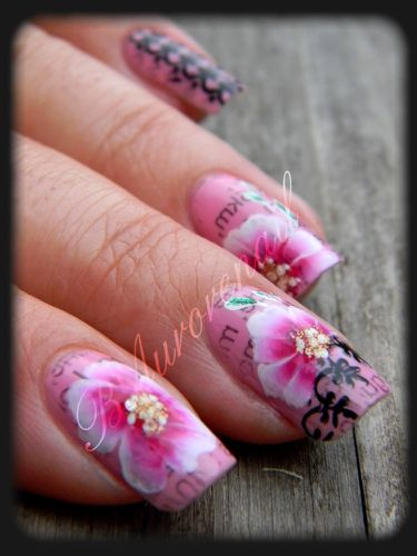 nail-art-rose-one-stroke-effet-journal-et-stamping-copie-7.jpg