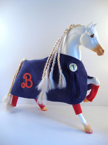 1988 Equitation Cheval Blinky No-5087-1