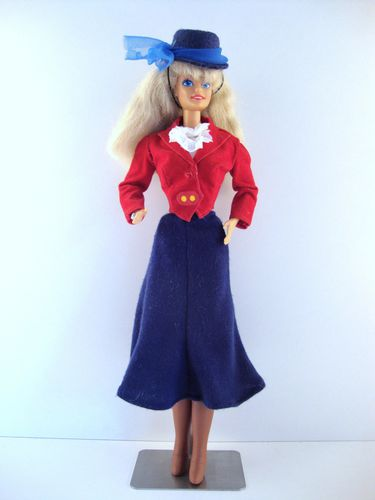 1988 Habillage Equitation Barbie No-5400-1