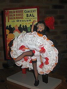 French cancan BARBIE-tuto