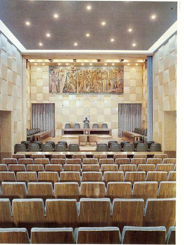 Salon de sesiones del Ayuntamiento de Zaragoza