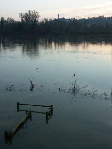 les bords de Loire .