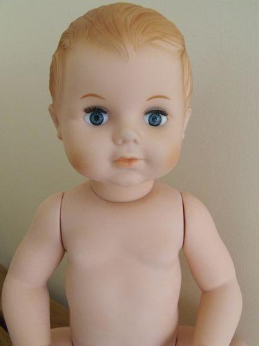 Petitcollin - Baigneur Petit Colin 40 cm blond yeux bleus 2