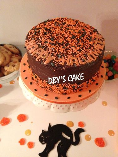 Sweet Table Halloween Party Dby S Cake