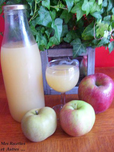 jus de pomme maison #
