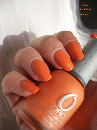 orly old school orange (4)