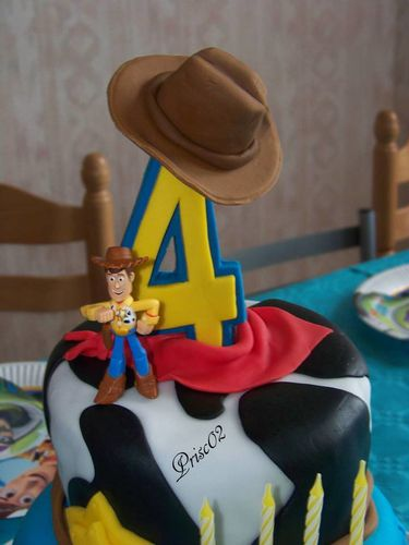 deco gateau toy story