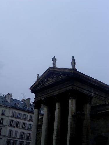 De beaux plafonds caissons l 39 eglise notre dame de - Metro notre dame de lorette ...